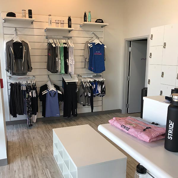 Commercial Build-out - Stride Fitness Interior - Jacksonville, FL